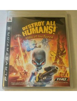Destroy All Humans! Path Of The Furon   Sony Play Station 3   Ps3 *Free Shipping* by Thq