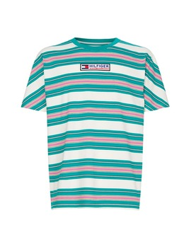 Tjm Sport Tech Stripe T Shirt by Tommy Jeans