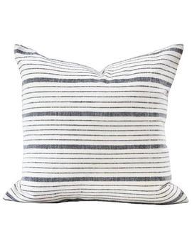 Kufri Cusco Stripe Pillow Cover In Natural // Black White Gray Striped Pillow // Farmhouse Pillow // Designer Pillow // Decorative Pillows by Etsy