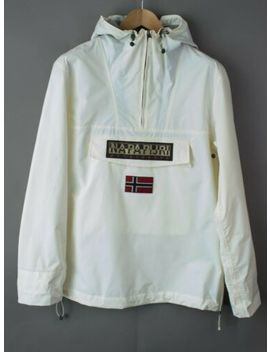Napapijri Men Waterproof Rainforest Anorak Jacket Jumper Coat Size L Nz103 by Napapijri