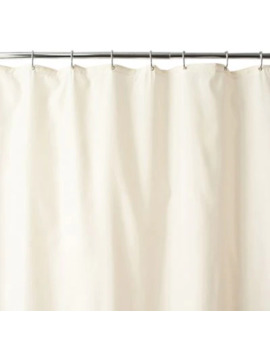 Wamsutta® 70 Inch X 72 Inch Fabric Shower Curtain Liner With Suction Cups In Black by Bed Bath And Beyond