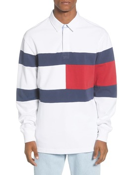 Tjm Flag Rugby Shirt by Tommy Jeans