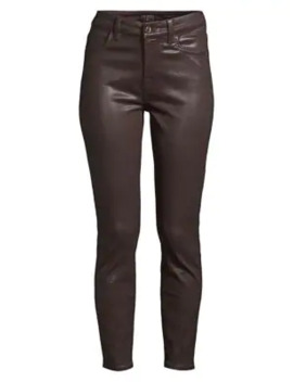 Coated Ankle Skinny Jeans by Jen7 By 7 For All Mankind