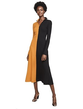 Long Sleeve Turtleneck Dress by Rosetta Getty