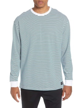 Awbrey Oversize Stripe Long Sleeve T Shirt by Vans