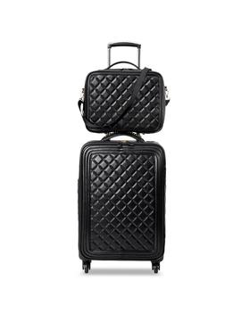 Le Trend Retro Pu Leather Rolling Luggage Set Spinner High Capacity Trolley High Grade Luxury Suitcase Wheels Cabin Travel Bag by D Hgate.Com