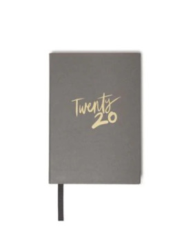 Stylish Grey 2020 A6 Diary by Marks & Spencer