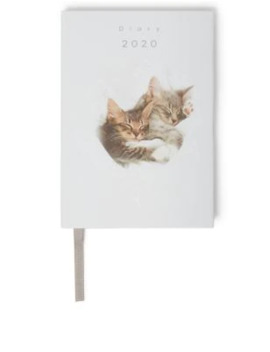 Cute Kittens 2020 A6 Diary by Marks & Spencer