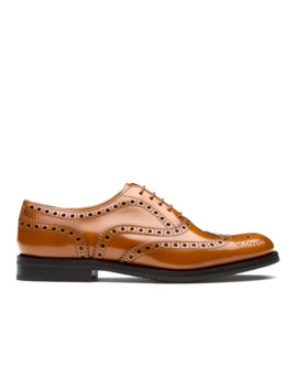 Polished Binder Oxford Brogue Sandalwood by Church's Footwear