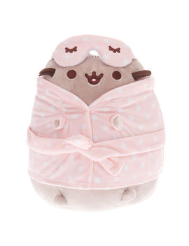 Pusheen® Medium Sleepover Plush Toy – Pink by Claire's