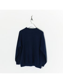 Adidas Sweatshirt Navy Large by Adidas
