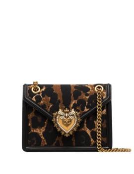 Devotion Leopard Print Shoulder Bag by Dolce & Gabbana