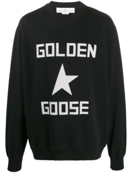 Sweat Oversize à Logo by Golden Goose