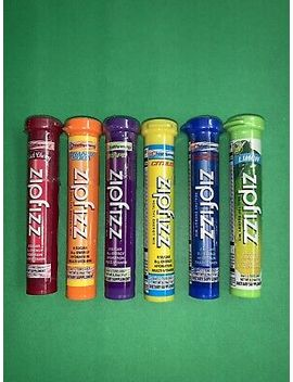 Zipfizz Healthy Energy Drink 6 Units 6 Flavors Different by Zipfizz