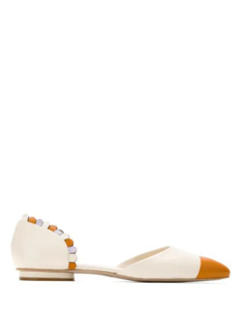 Pointed Toe Ballerina Shoes by Sarah Chofakian