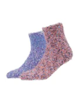 Wild Feet Fluffy Socks 2 Pack   Sokken by Wild Feet