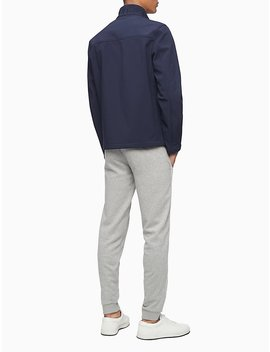 Solid Soft Shell Full Zip Jacket by Calvin Klein