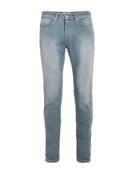 Light Grey Bleach Stretch Skinny Jeans by Topman