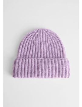 Merino Wool Blend Beanie by & Other Stories