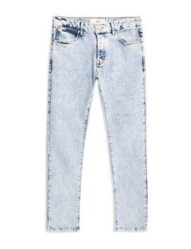 Indigo Stretch Slim Jeans by Topman