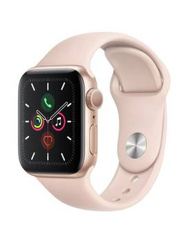 Apple Watch S5 Gps 40mm Gold Alu/Pink Band 299/6040 by Argos