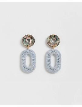 Woven Adriatic Earrings by Lizzie Fortunato