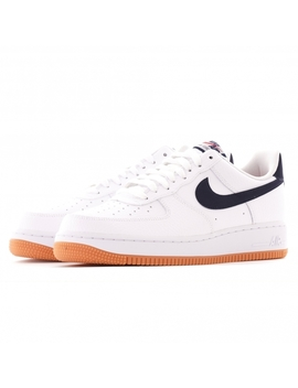 Air Force 1 '07 2   White And Obsidian by Nike