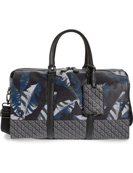 Gelada Print Faux Leather Duffle Bag by Ted Baker London