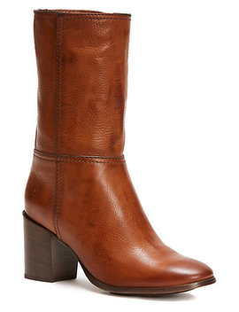 Frye Nora Mid Pull On Leather Boot by Frye