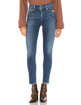Sophie Mid Rise Ankle Skinny In Tame by Agolde