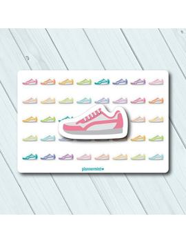 Running Shoe Planner Stickers   Icon   Erin Condren Life Planner   Happy Planner   Weight Loss   Exercise   Cardio   Matte Or Glossy by Etsy