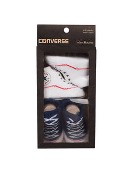 Converse Baby Booties, Pack Of 2, Navy by Converse