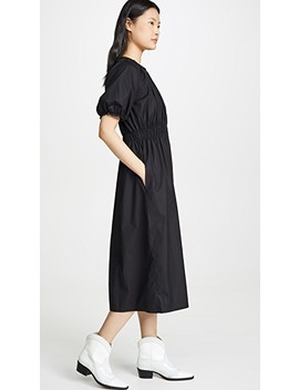 Stretch Cotton Poplin Dress by Jason Wu