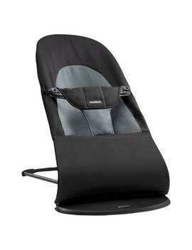 Baby Björn Bouncer Balance Soft, Black/Grey by BabybjÖrn