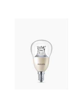 Philips 8 W Ses Golf Ball Led Dimmable Light Bulb, Clear by Philips