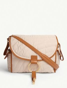 Quilted Woven Changing Bag by Chloe
