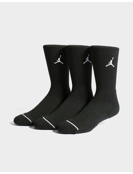Jordan 3 Pack Crew Socks by Jd Sports