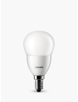 Philips 5.5 W Led Ses Golf Ball Light Bulb, Frosted by Philips