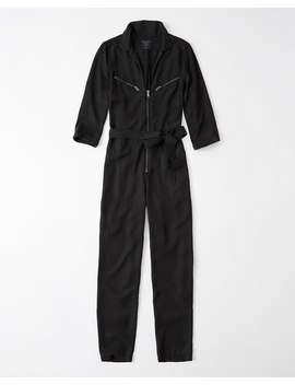 Zipper Utility Boilersuit by Abercrombie & Fitch