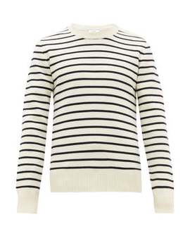 Striped Wool Sweater by Ami