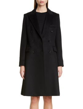 Rigel Double Breasted Camel Hair Coat by Max Mara