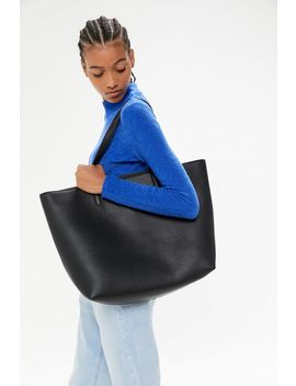 Faux Leather Tote Bag by Urban Outfitters