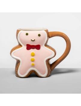 12oz Earthenware Gingerbread Mug   Opalhouse™ by Opalhouse