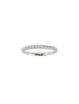 0.4ct Diamond & White Gold Eternity Ring by Buy Fine Diamonds