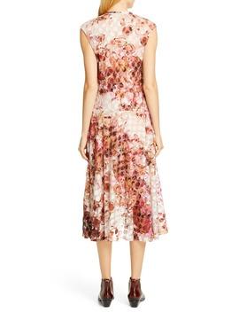 Abstract Dot Midi Dress by Fuzzi