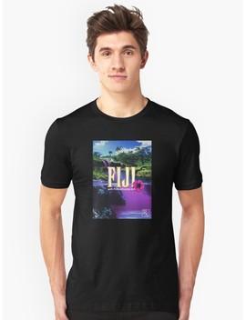 Purple Dream Slim Fit T Shirt by Dmorissette