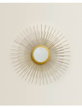Sun Mirror by Zara Home