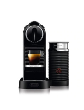 Nespresso® By Delonghi Citi Z Espresso Maker Bundle WithAeroccino Frother In Black by Bed Bath And Beyond
