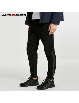 Jack Jones Men Leisure Straight Long Elastic Waistband Pants |218314521 by Ali Express.Com