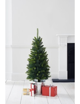 50 Led Porch Christmas Tree In Galvanised Pot by Next